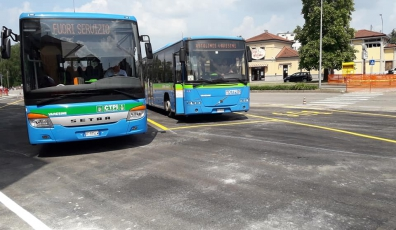 New terminus outside The City of Varese - from 21 May 2020